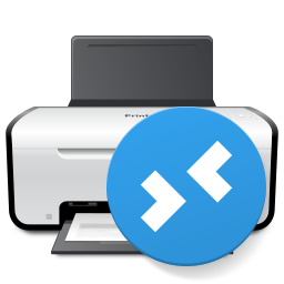 Printer for Remote Desktop Icon PNG 256x256