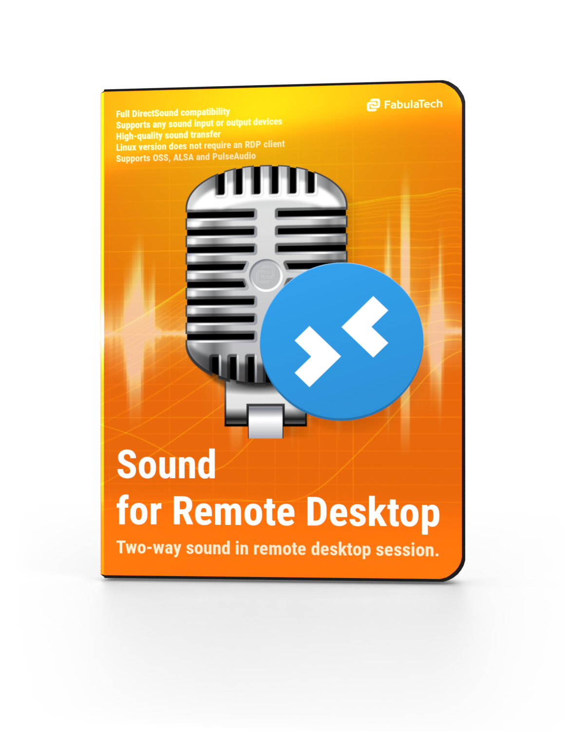 Sound over RDP Software Box