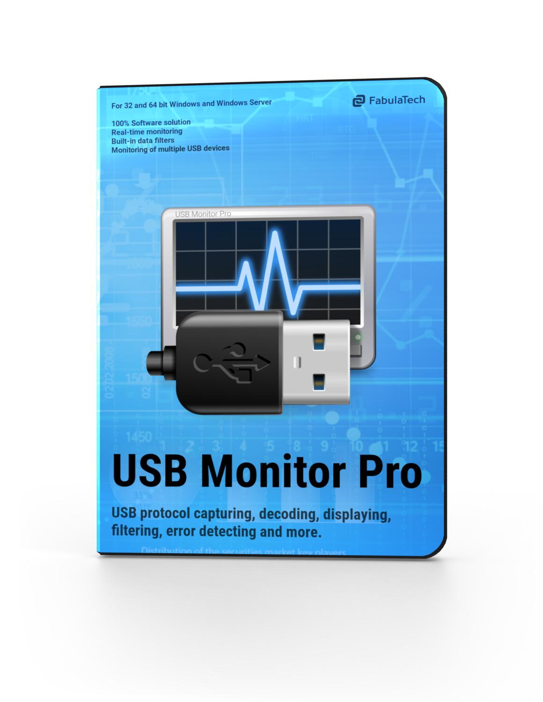 USB Monitor Pro Software Box