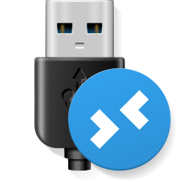 USB for Remote Desktop Icon PNG 256x256