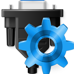 Virtual Serial Port Control Icon PNG 256x256